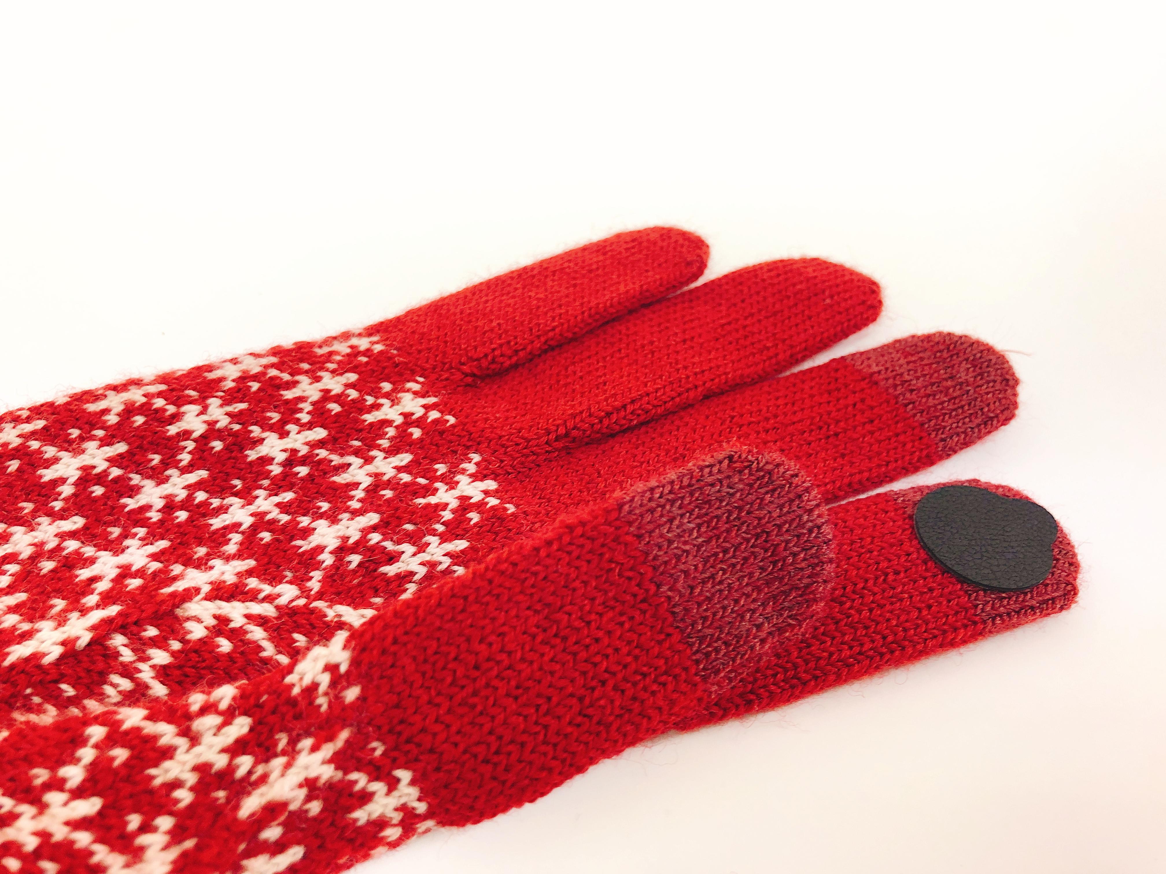 手袋したまま指紋認証!疑似指紋シールで無印の手袋をtouch ID対応にする方法