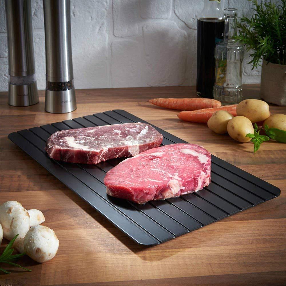 解凍プレートのおすすめ10選!時短で簡単に調理できる