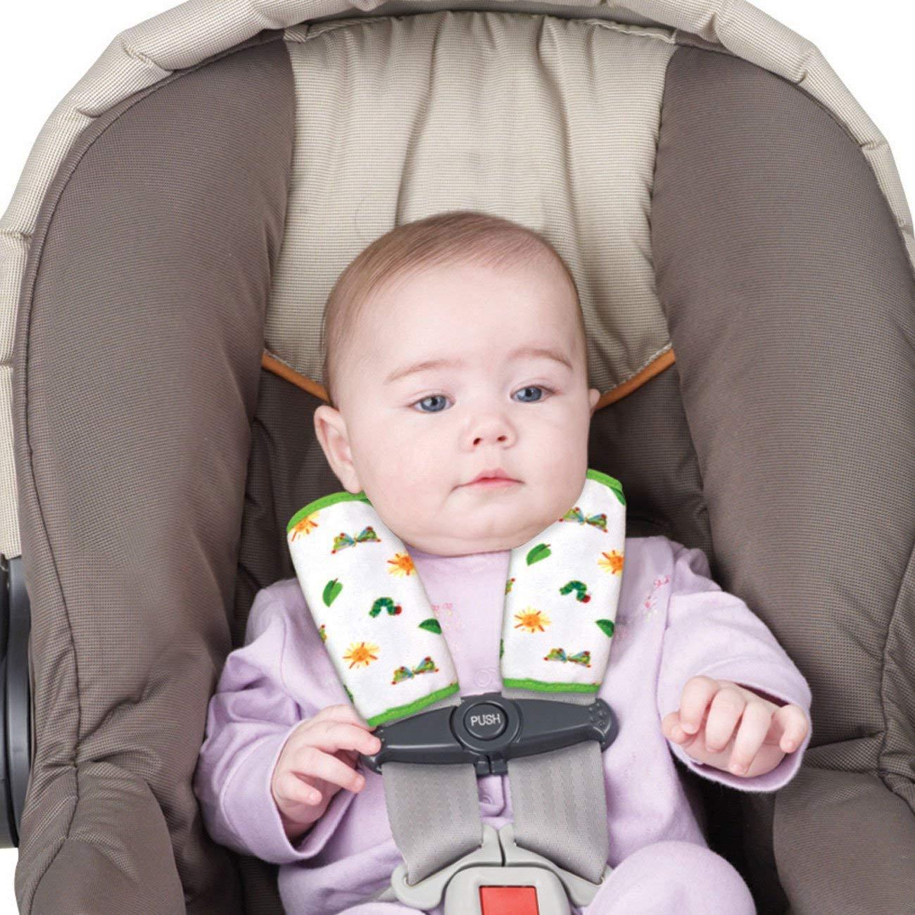 子ども用シートベルトカバーのおすすめ3選【締め付けない】