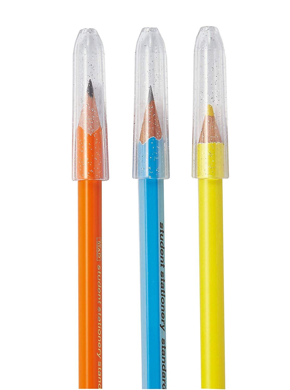 鉛筆キャップのおすすめ5選!三角タイプやくびれ付きも