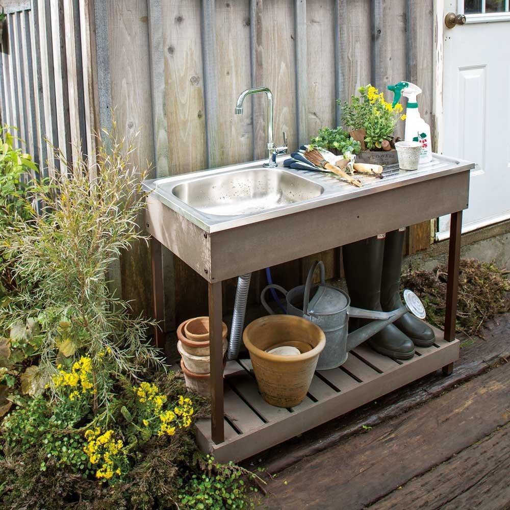 ガーデンシンクのおすすめ6選!屋外で使える流し台