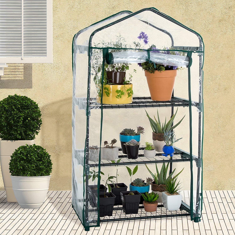 小型ビニールハウス・温室のおすすめ5選!ラック式も