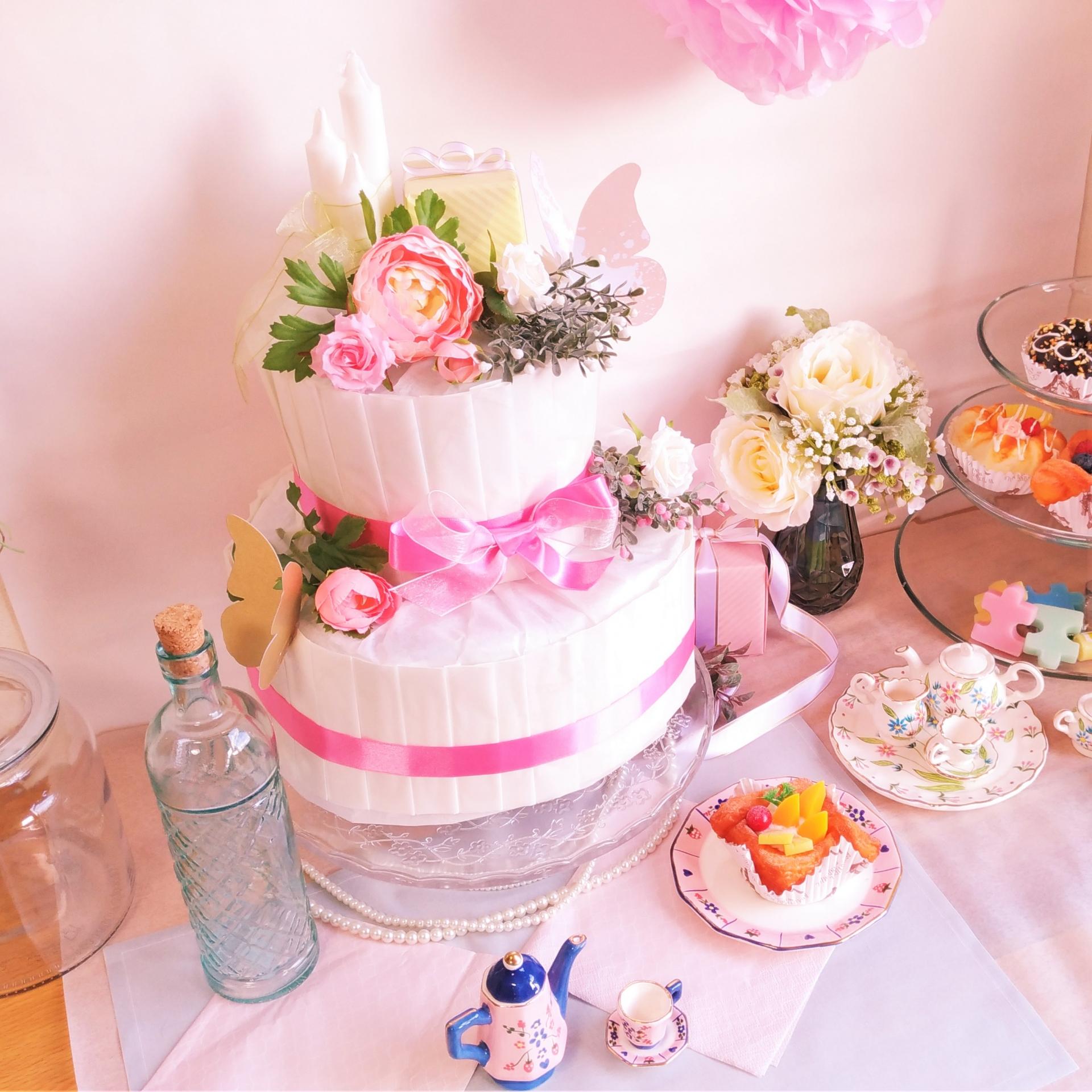 おむつケーキのおすすめ7選!人気のディズニーでおしゃれな出産祝い