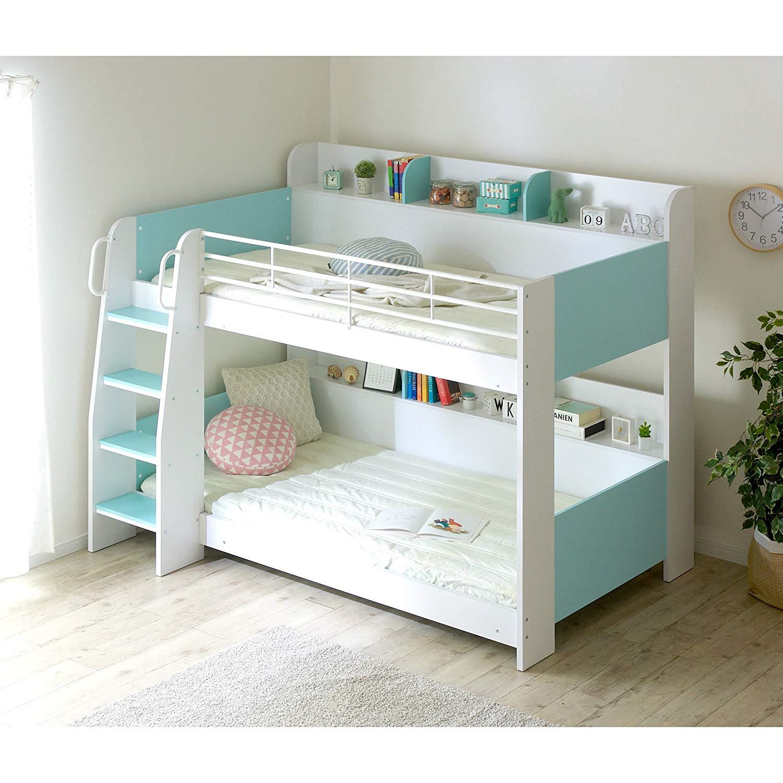2段ベッド・3段ベッドのおすすめ2選!収納力に優れたタイプも