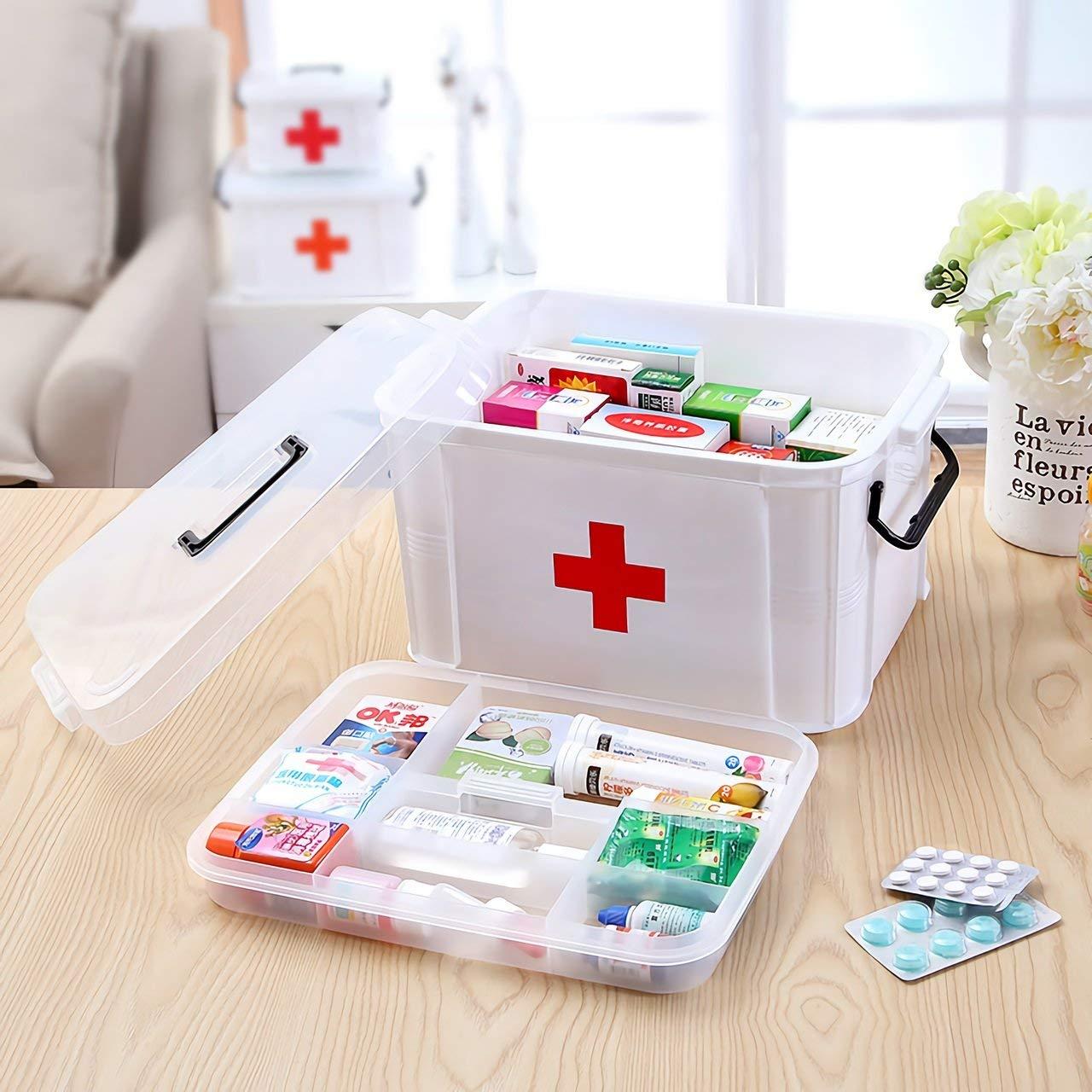 救急箱のおすすめ3選!薬の整理・収納に