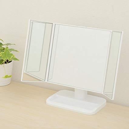 化粧鏡のおすすめ3選&選び方【ライト付きや拡大鏡タイプも】