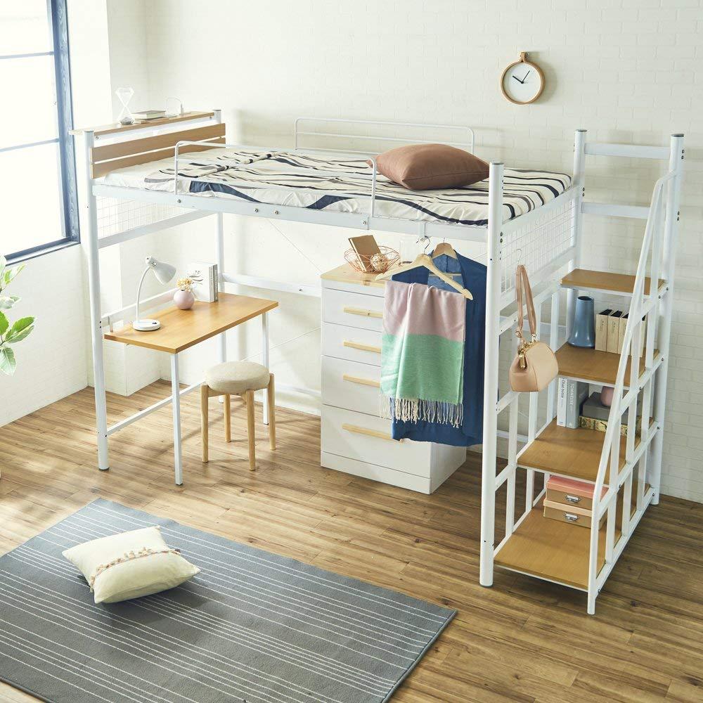 ロフトベッドの選び方&おすすめ4選【スペースを有効利用できる!】