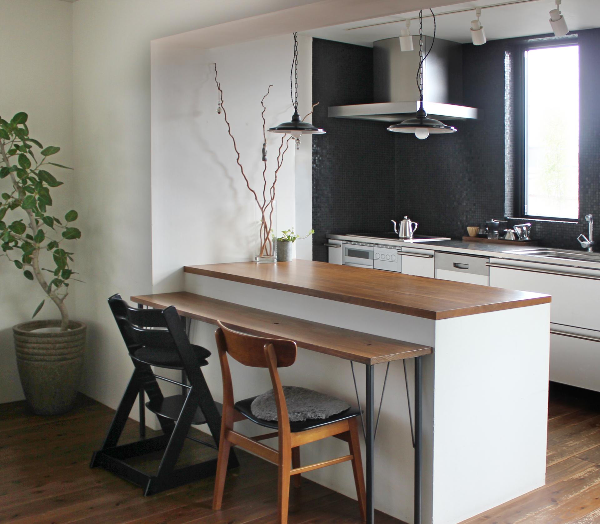 カウンターテーブルのおすすめ4選&選び方【おしゃれなキッチンに】
