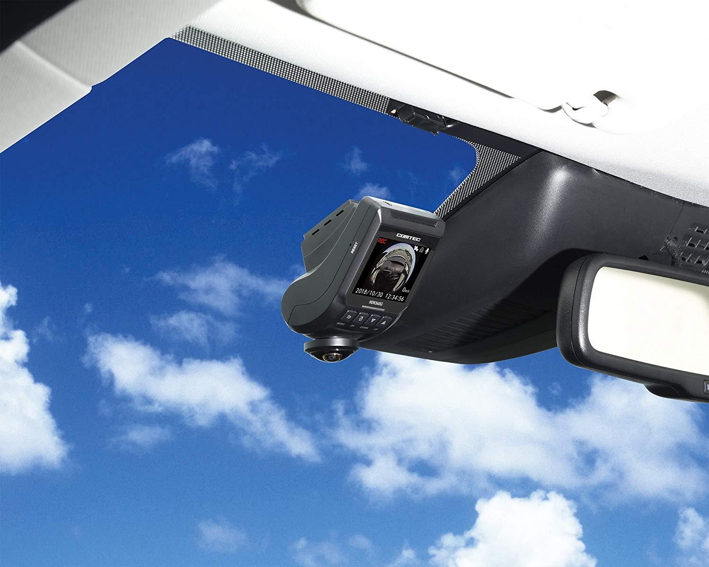 ドライブレコーダー(ドラレコ)のおすすめ4選!360度撮影も【2020年版】