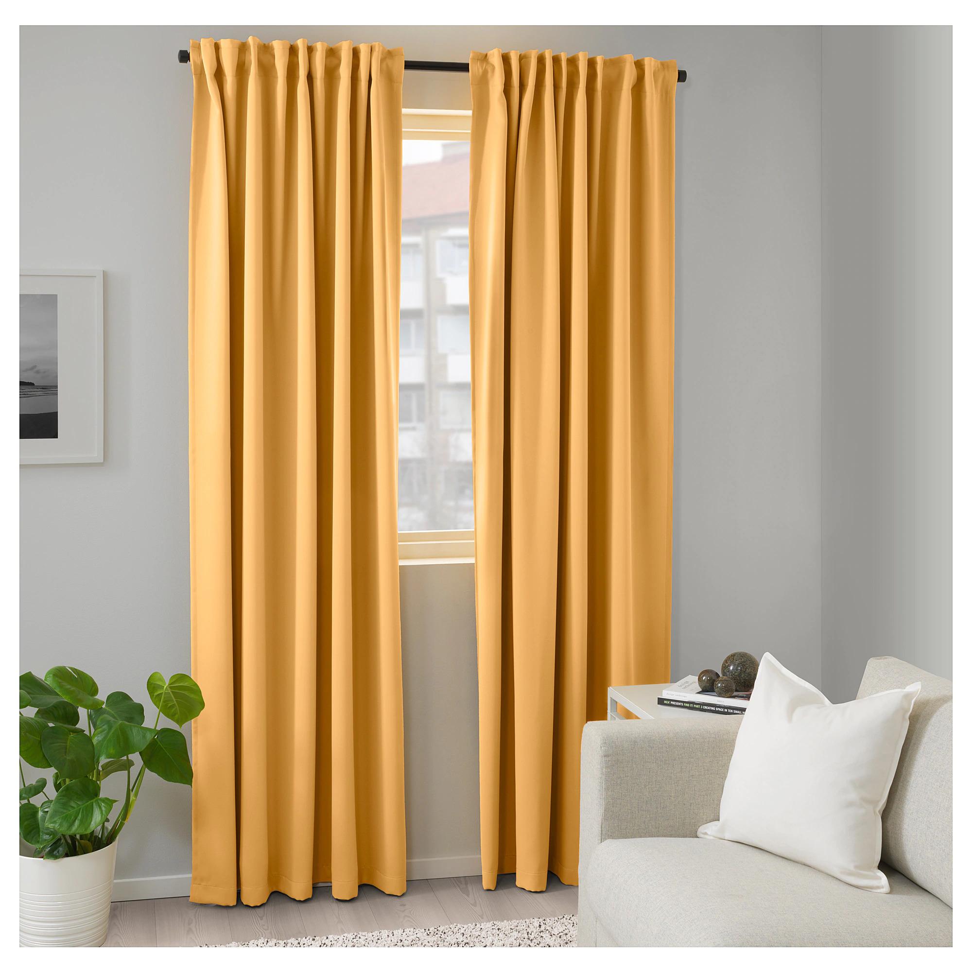 IKEAのおすすめカーテン13選!遮光タイプやレースも