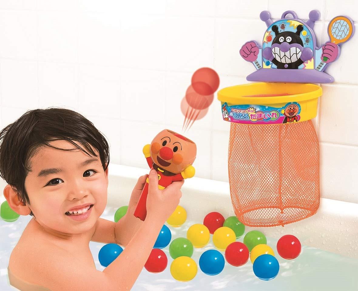 お風呂で遊べるアンパンマンのおもちゃおすすめ6選!たまいれも紹介