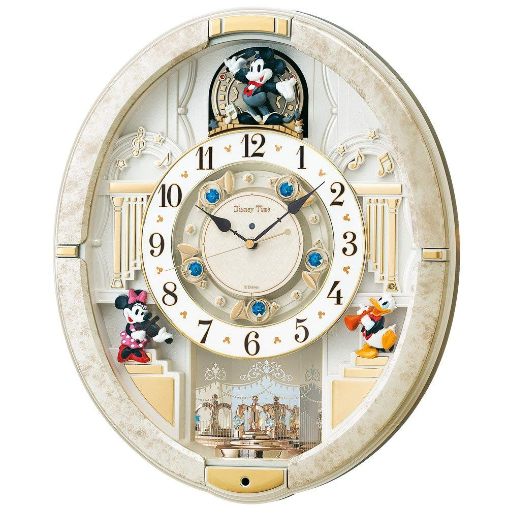 ディズニーのおすすめ掛け時計7選!おしゃれなからくり時計も