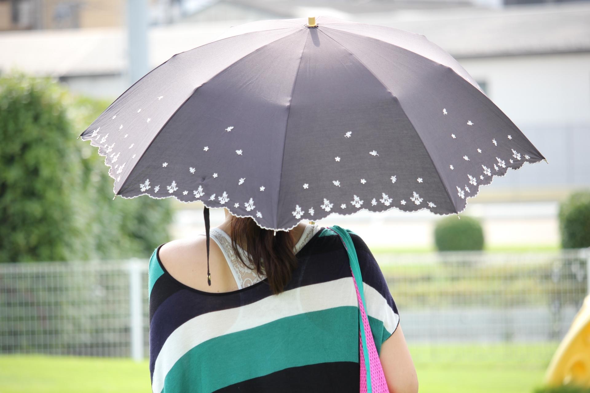日傘のおすすめ5選!完全遮光や折りたたみタイプも紹介