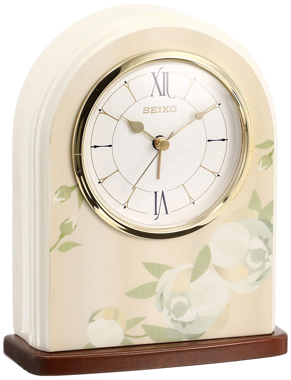 花柄の置き時計おすすめ7選!おしゃれなピンクの花柄も