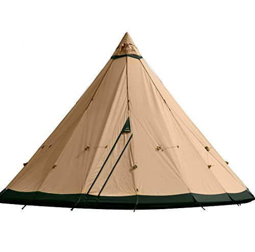 テンティピのティピーテントおすすめ2選!テント内で焚き火ができる
