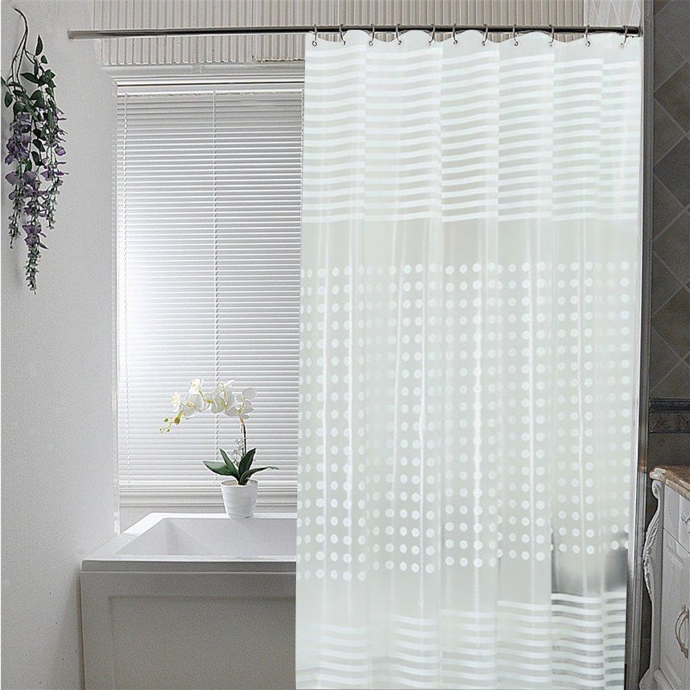 シャワーカーテンのおすすめ6選!防カビ加工や透明タイプも