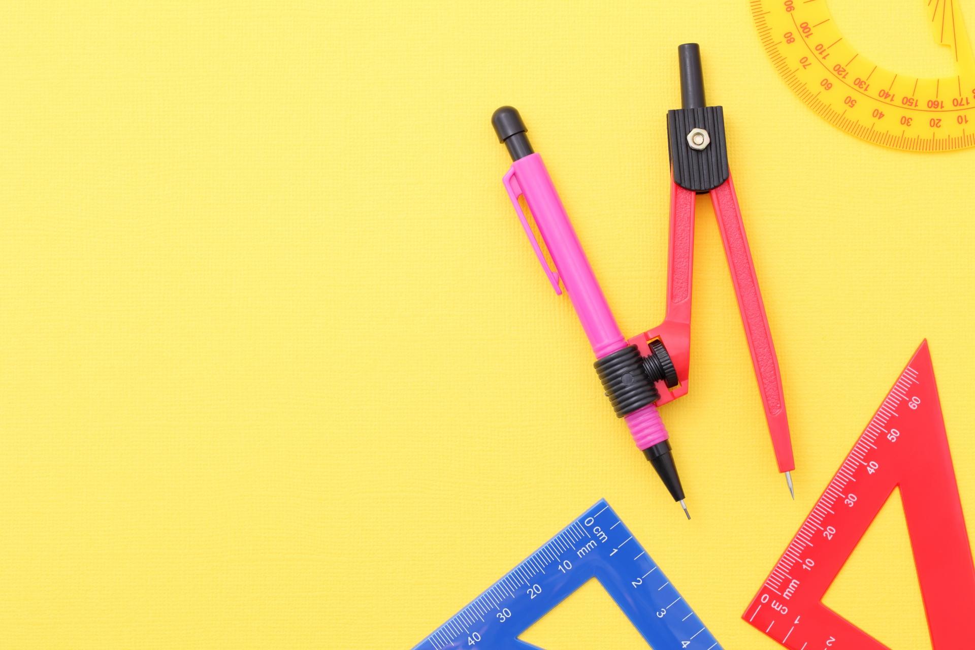 コンパスのおすすめ9選!小さな子どもでも使いやすいものや製図用も