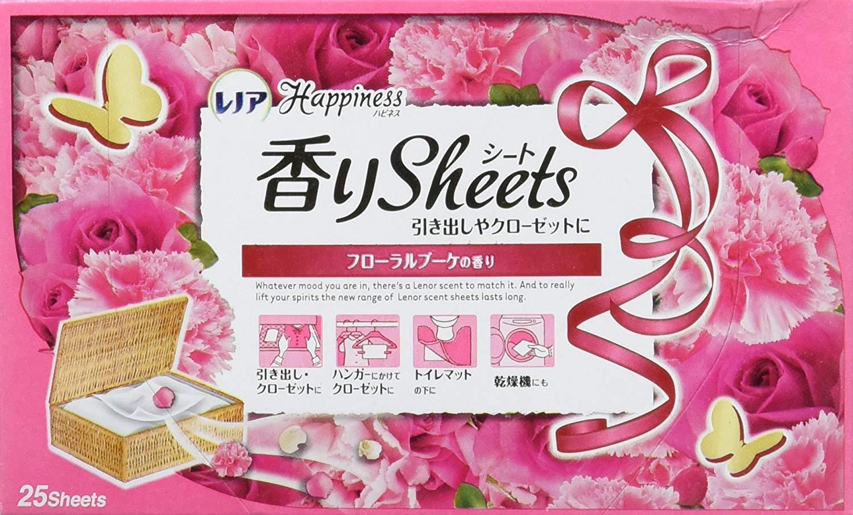 柔軟剤シートのおすすめ7選!芳香剤としても使える