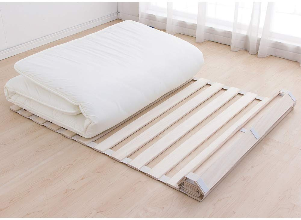 折りたたみすのこベッドのおすすめ9選!4つ折りやロールタイプも