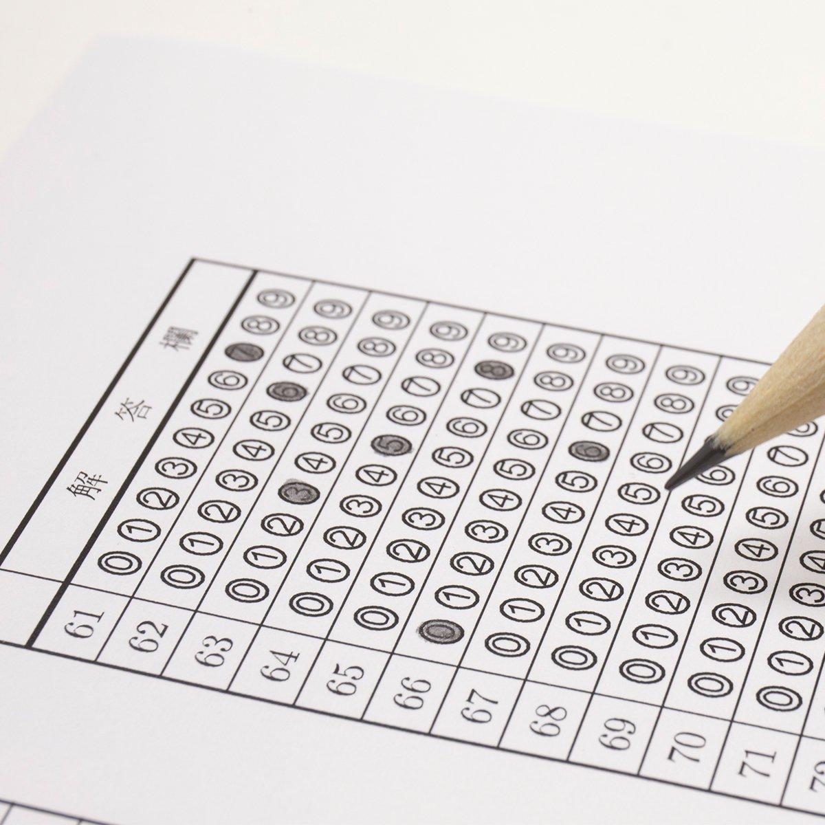マークシート用鉛筆のおすすめ5選!転がりにくい形状も
