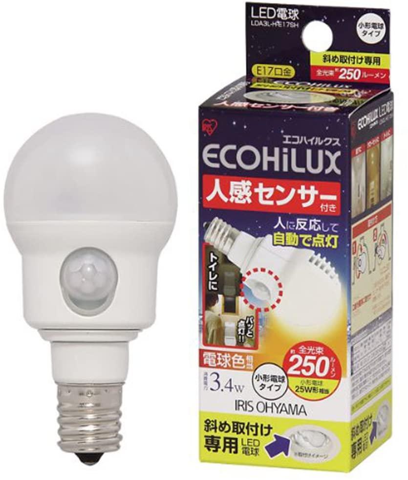 人感センサー付きLED電球のおすすめ7選!点灯時間が長いタイプも