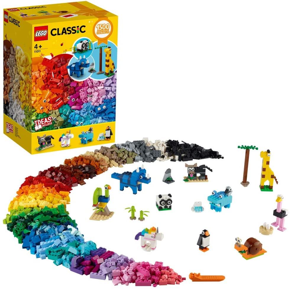 レゴクラシックのおすすめ12選!大容量の1500ピース入りも