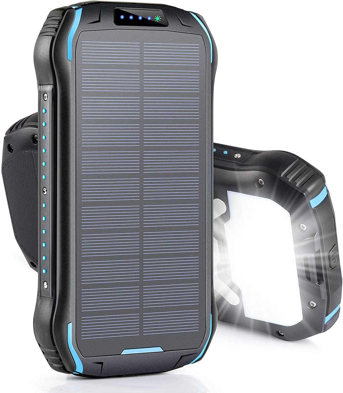 ソーラー充電器のおすすめ7選!広げて使える折りたたみ式も