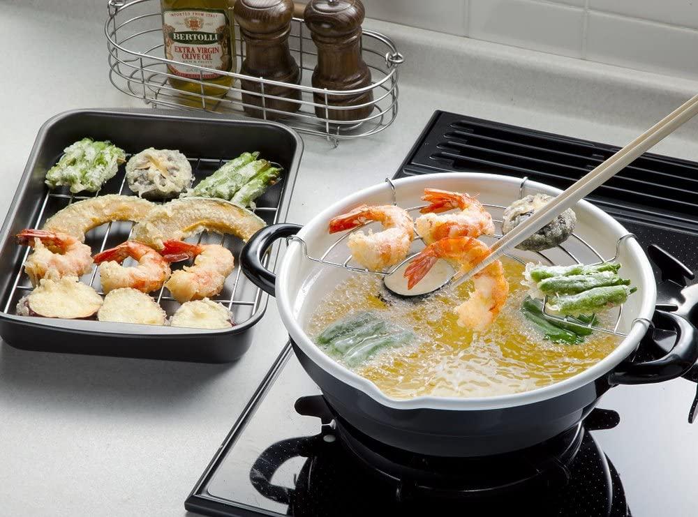 天ぷら鍋・揚げ物鍋のおすすめ14選!ホーローやステンレス製も