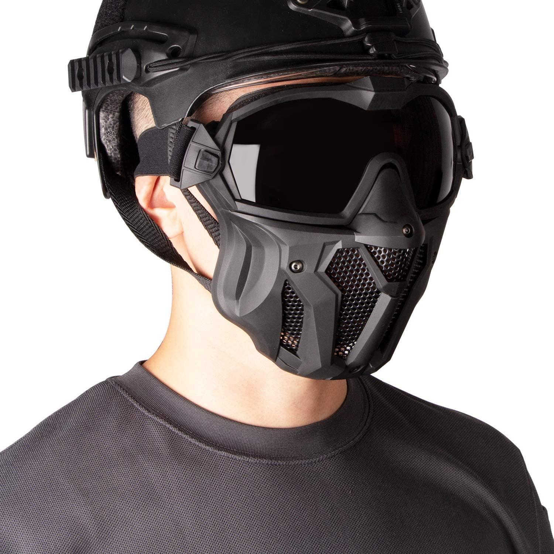 サバゲー用のフェイスマスクおすすめ10選!曇りにくいファン付きも