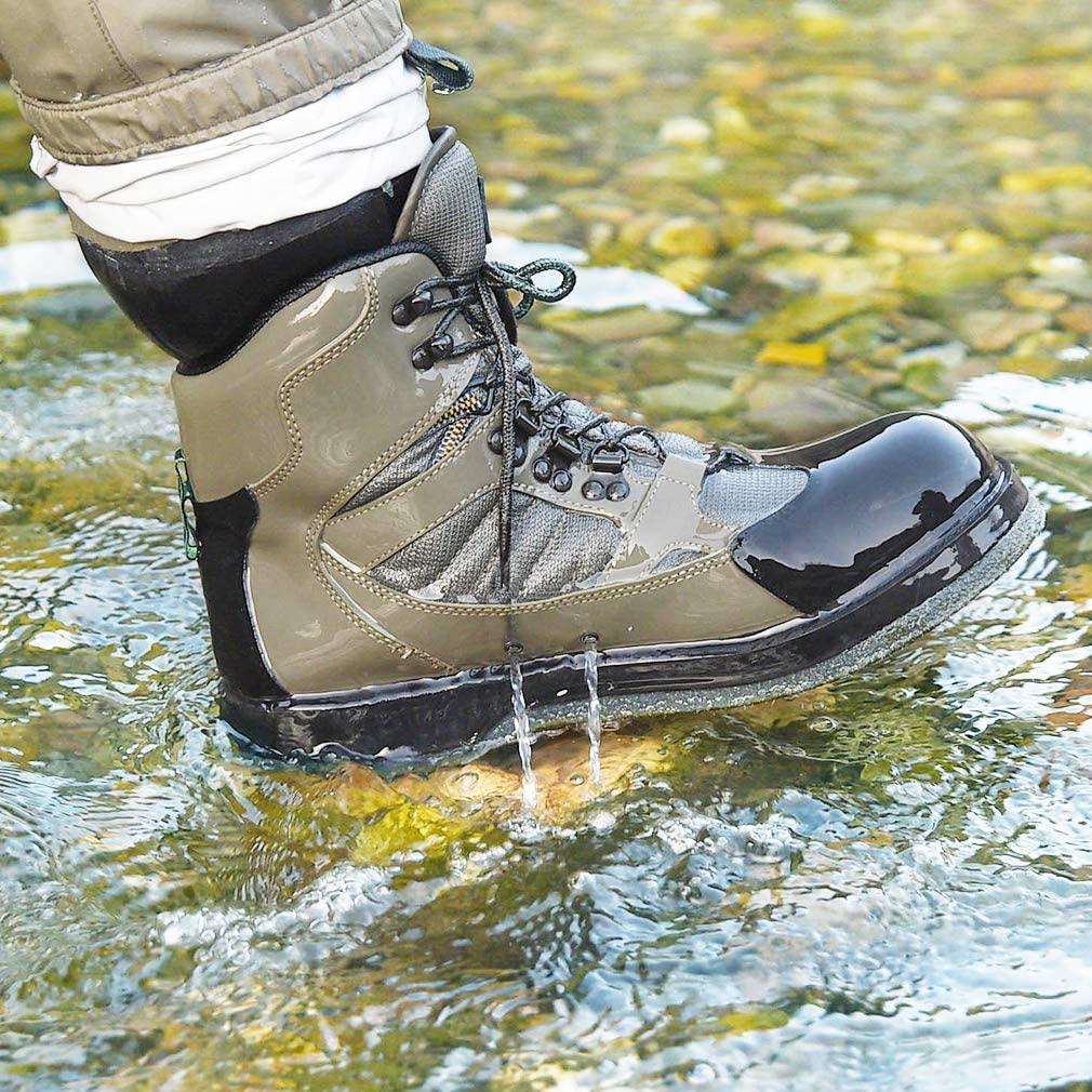 釣り靴のおすすめ10選!スパイク付きやフェルトソールも