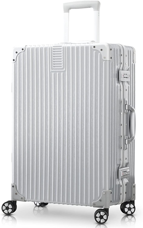 アルミ製スーツケースのおすすめ10選!横型や機内持ち込み可能も