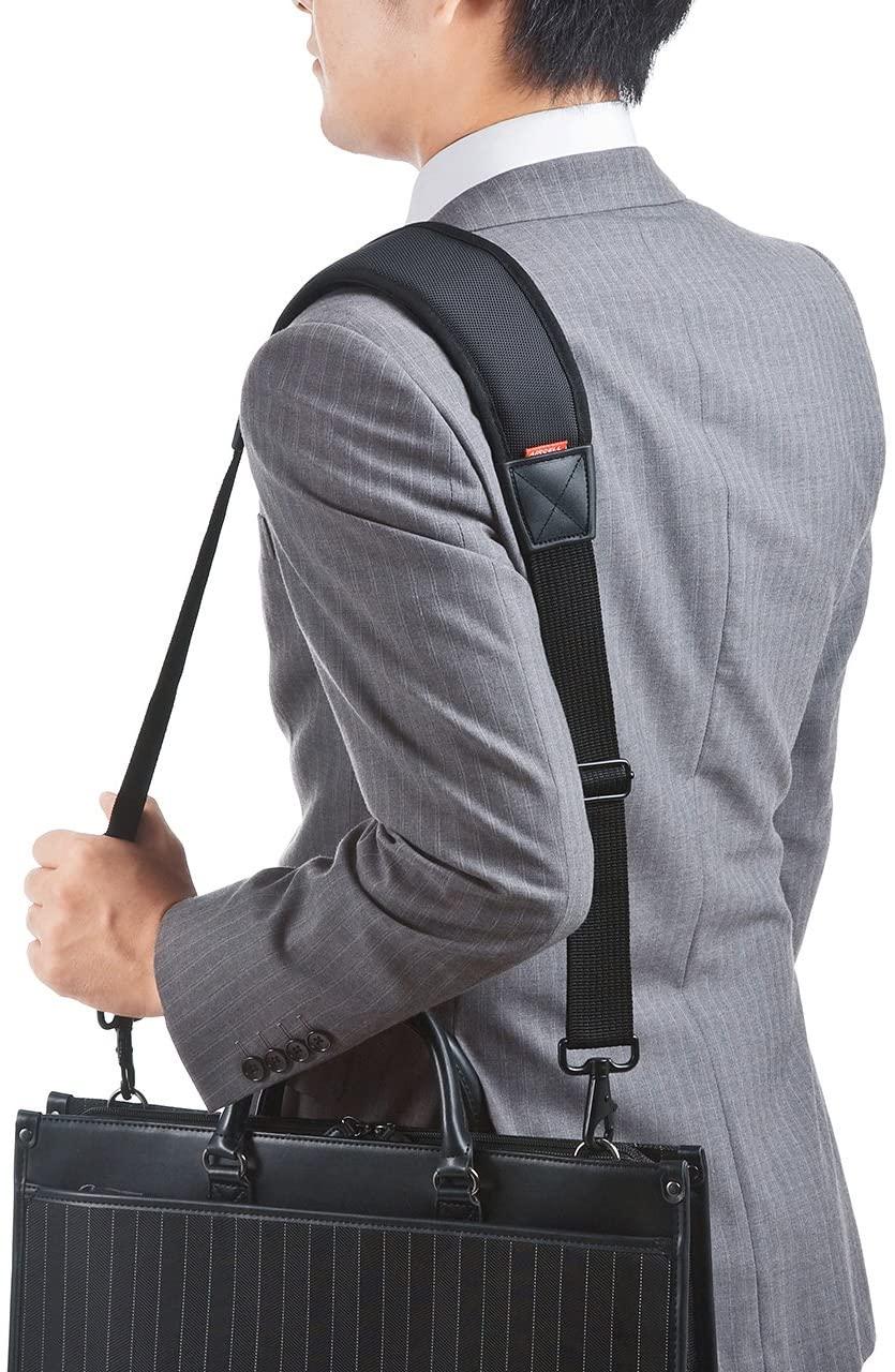 ビジネスバッグ用のショルダーベルトおすすめ11選!圧力分散タイプも