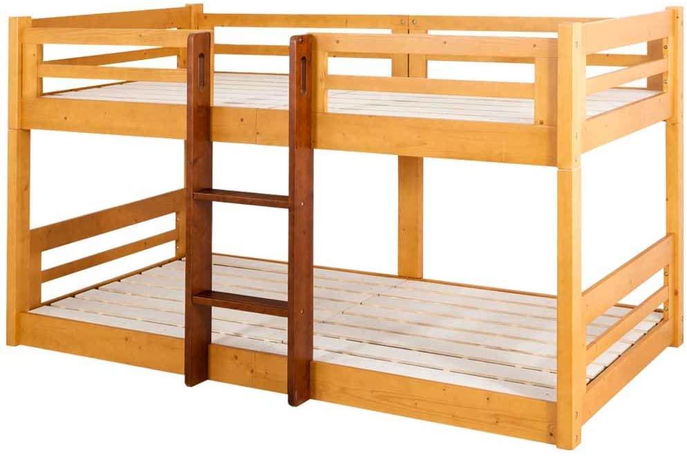二段ベッドのおすすめ13選!分割できるタイプも