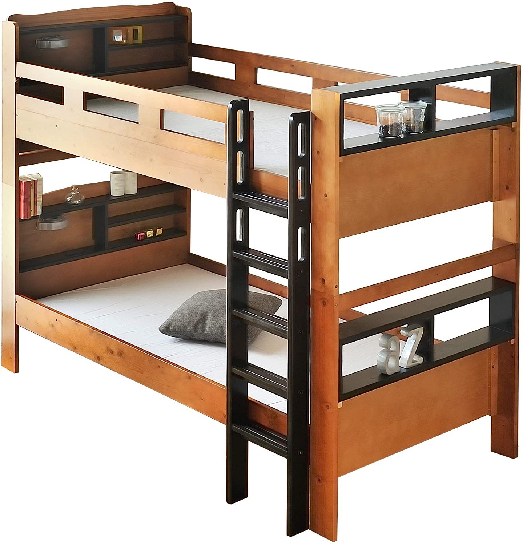 あつ 森 二 段 ベッド