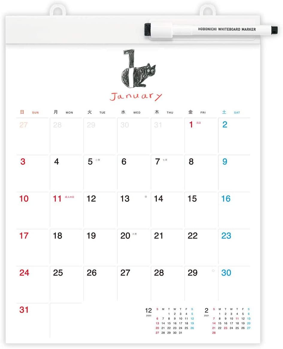 カレンダーのおすすめ35選!日めくりタイプも【2021年版】