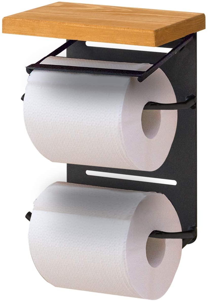 トイレットペーパーホルダーのおすすめ23選!棚付きやアイアン製も