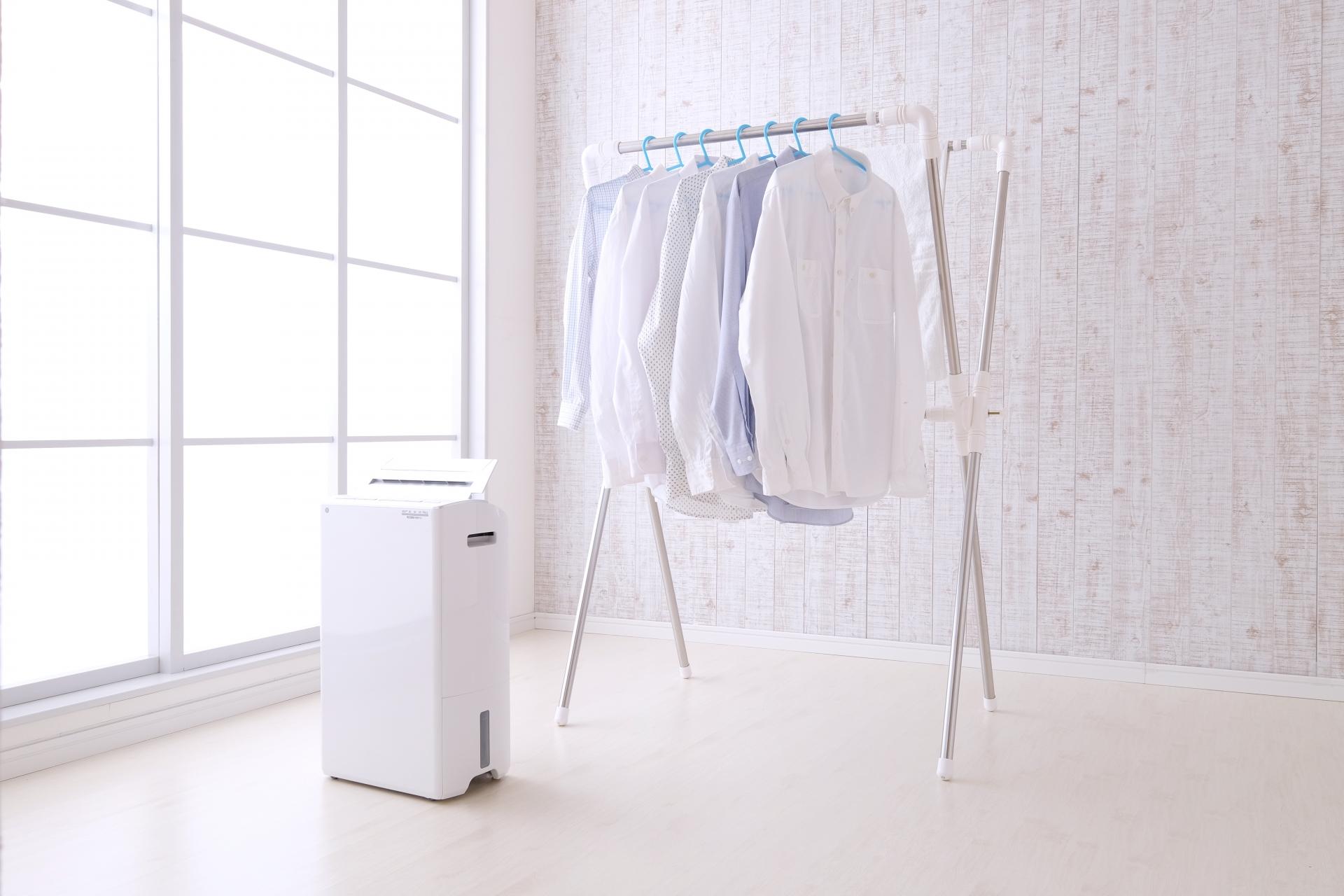 除湿機のおすすめ!梅雨時期の部屋干しを快適にしよう