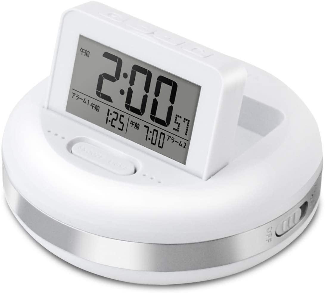 目覚まし時計のおすすめ35選!大音量アラームや振動タイプも