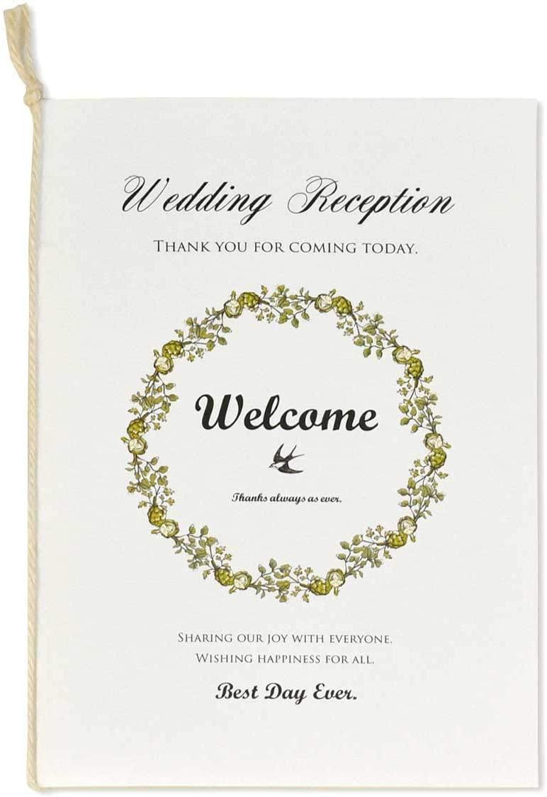 結婚式の席次表おすすめ15選!和風やカジュアルなロールタイプも
