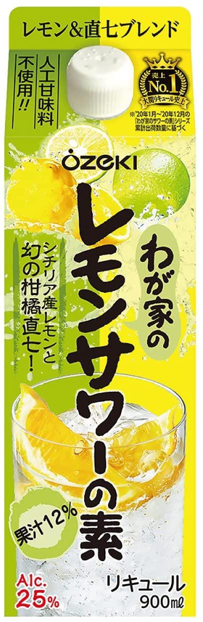 レモンサワーの素のおすすめ13選!糖質ゼロや濃いめタイプも