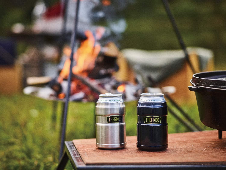 キャンプにも家飲みにも!サーモスの《保冷缶ホルダー》は、時間がたっても冷たい缶ビールが飲める