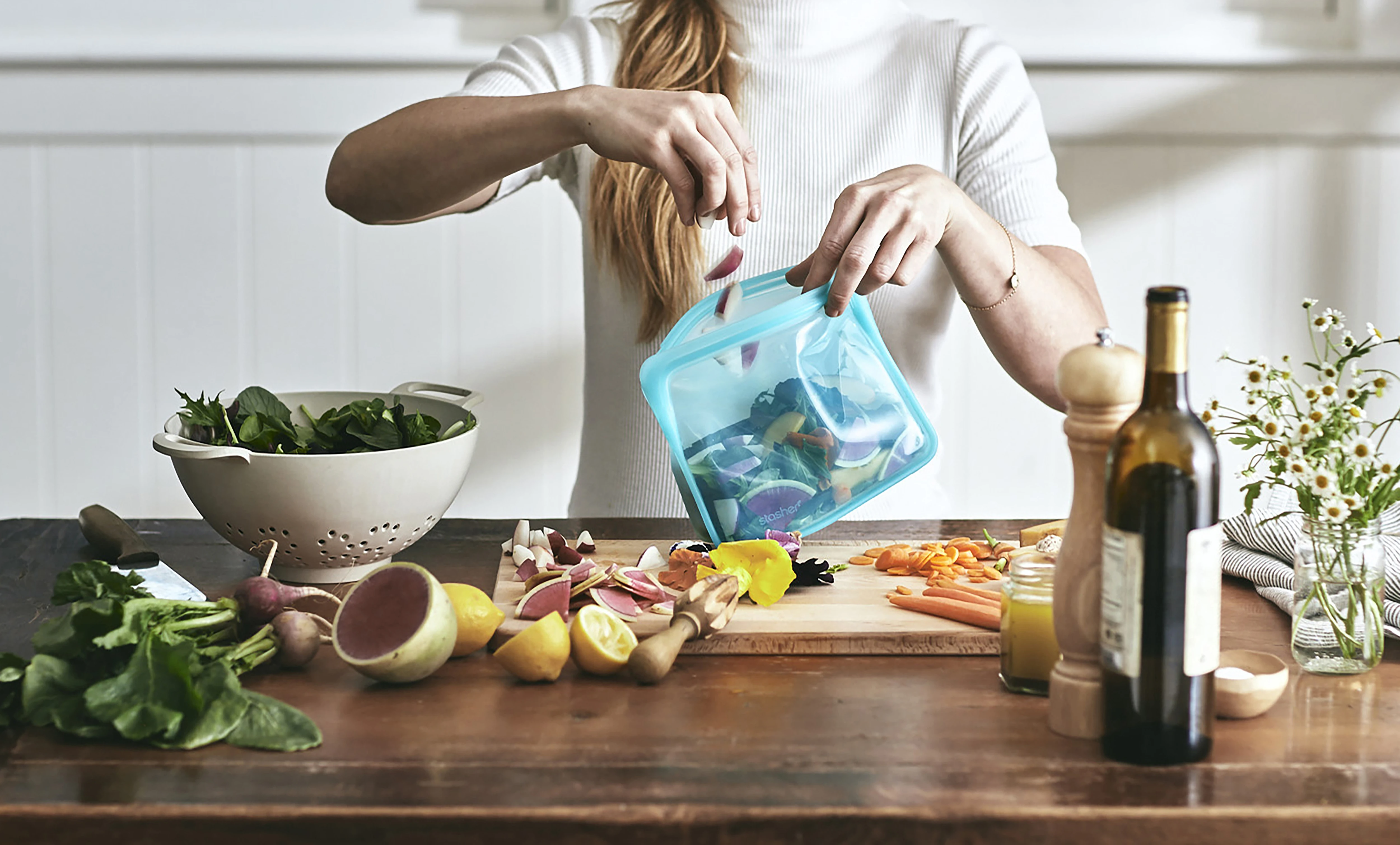 湯煎にもオーブンにも使えて便利すぎる…!繰り返し使える保存袋《スタッシャー》でエコライフを始めよう。