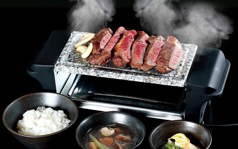遠赤外線でジュワっとおいしい!【石焼肉グリル】がお家焼き肉の歴史を変える