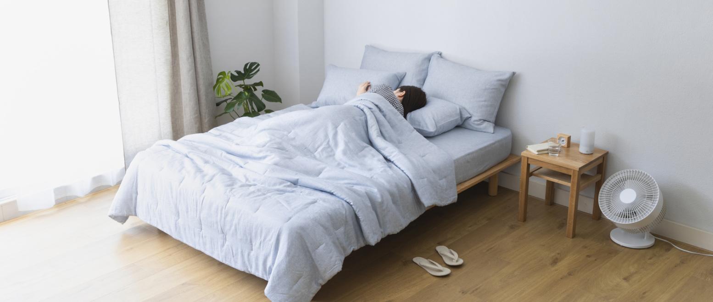 《無印良品の冷感寝具5選》天然由来で優しくひんやり。朝まで快適に眠れそう