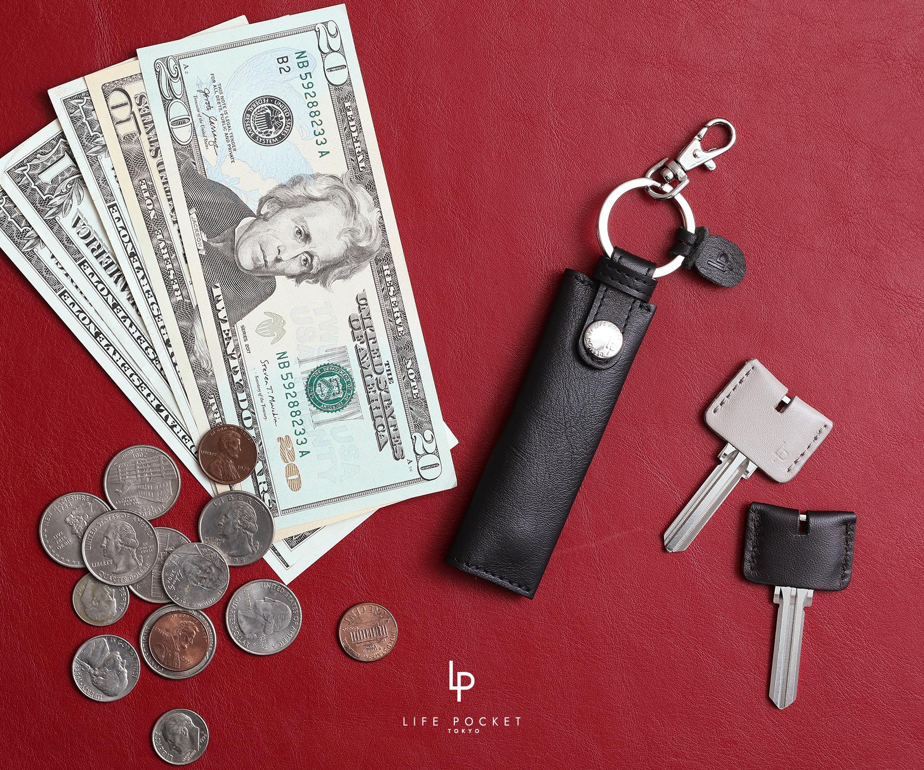 ミニすぎるお財布【ナノウォレット】でお金も鍵もこれひとつ!