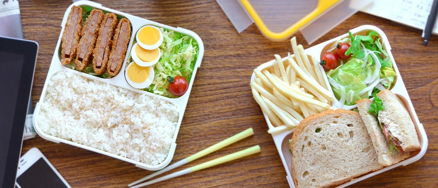 縦に持ち運べるお弁当箱【フードマン】で、お弁当ランチデビューを飾ろう。